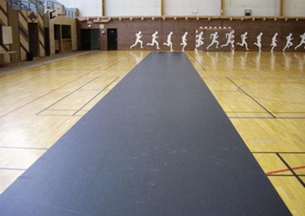 Tapis De Protection De Sol Sportif De Gymnase Rouleau De Sol Pvc